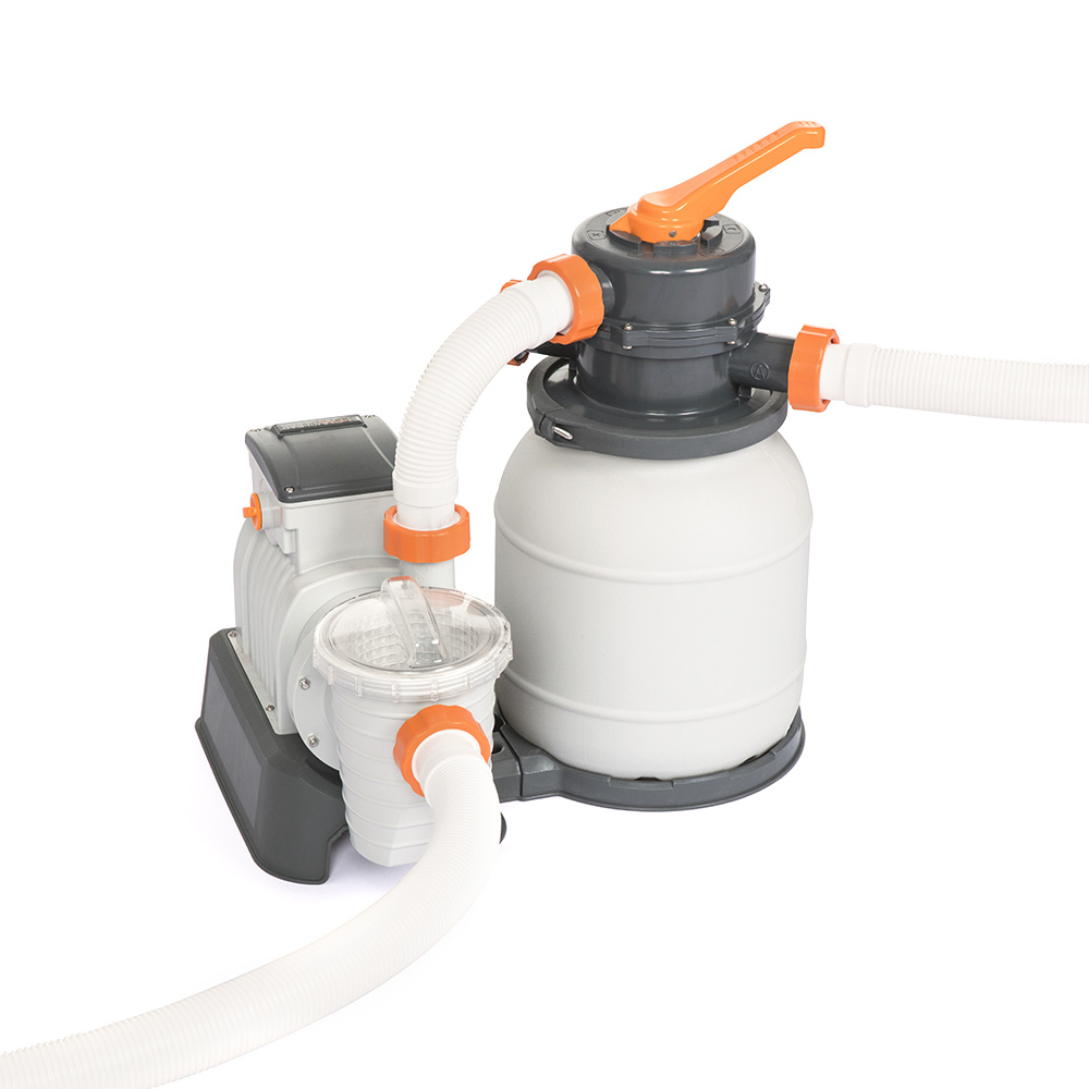 Bestway 1500GPH Flowclear™ Sand Filter Swimming Above Ground Pool Cleaning Pump