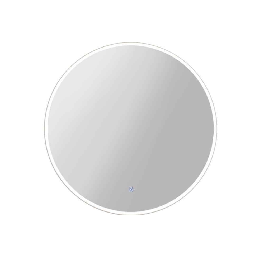 Embellir 70CM LED Wall Mirror With Light Bathroom Decor Round Mirrors Vintage