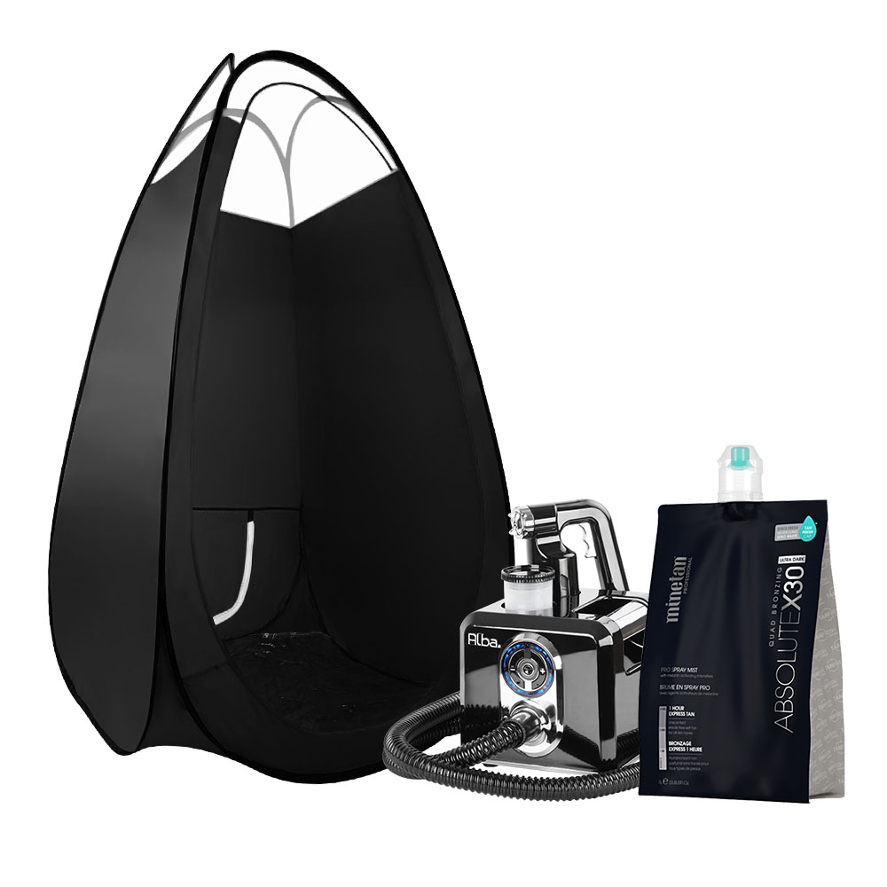 Alba. Spray Tan Machine Solution Spray Tan Tent Kit Sunless HVLP System