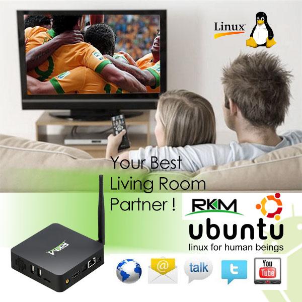 RKM MK902S LE Quad Core (Linux Edition) Picuntu Linux Mini PC